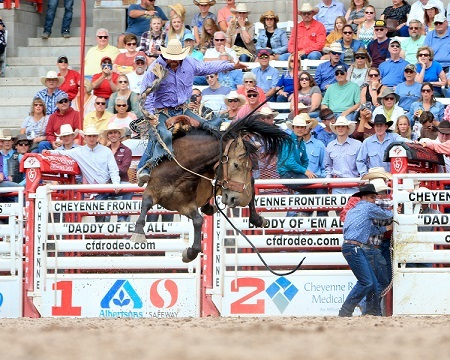 Benny Binion S World Famous Bucking Horse Amp Bull Sale